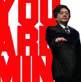 Iwata. Le bégé de l'univers.
