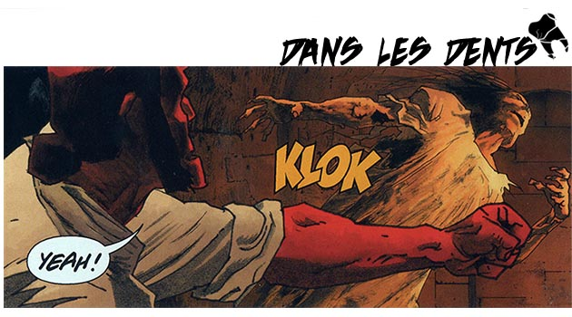 tiré de Hellboy, The Sleeping and the Dead, t'as vu
