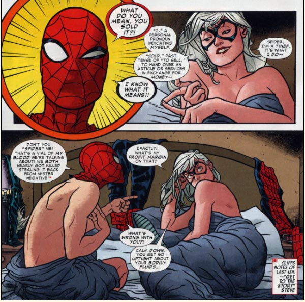 Ultimate Spider Man Black Cat Porn