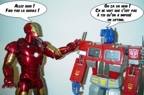 Iron man for Plan d iron man